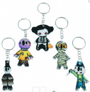 Halloween zombie themed keyring (Code 3012)